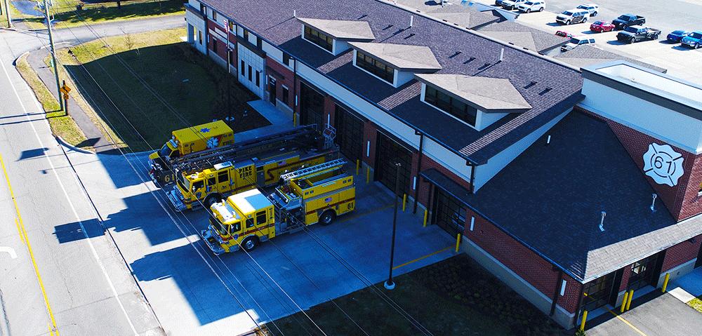Pike Fire Station 61 HQ