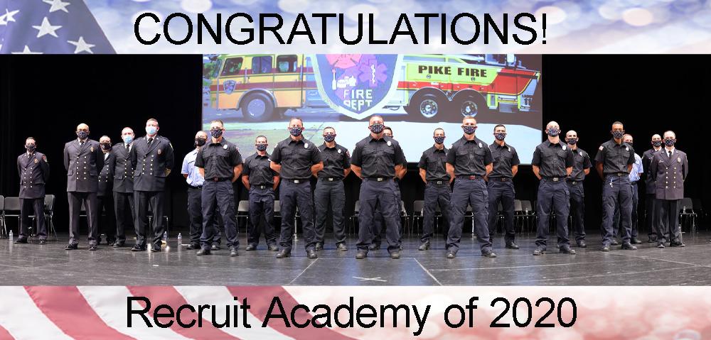 recruit academy of 2020
